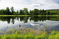 额尔古纳之湖