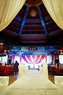 富丽堂皇的结婚典礼现场