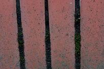 红砖与青苔