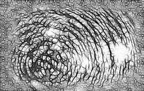 扫描花纹背景