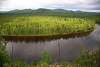 森林河风景