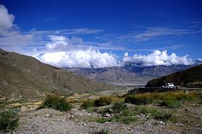 西藏高原风景