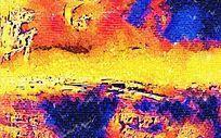 艺术色彩背景画