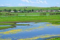额尔古纳河流域湿地风光