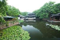 杭州西湖中国古典建筑
