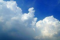 浓厚的白云云层素材大图