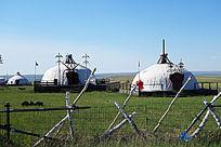 蒙古大营大帐
