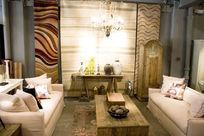 欧式田园风格客厅家具