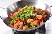 干锅蒜香鸡