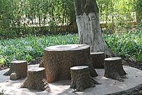公园特色石桌