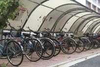 校园自行车棚