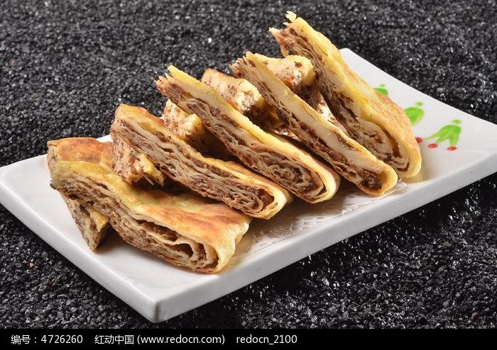 肉酥饼图片