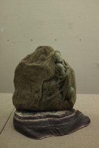 石雕 出水芙蓉