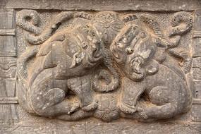 寺庙装饰石刻
