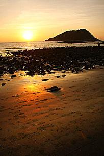 海上日出风景