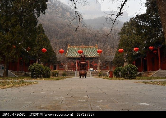 林州黄华山觉仁寺图片