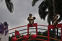 小天使铜雕