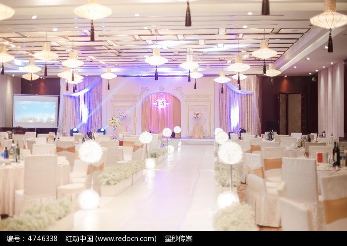 婚礼舞台场景图片