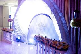 婚庆舞台设计特景