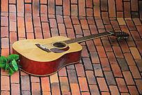 漂亮的吉他