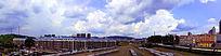 绥芬河铁路货运建筑图片