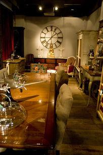 英式餐厅家私家饰局部影像