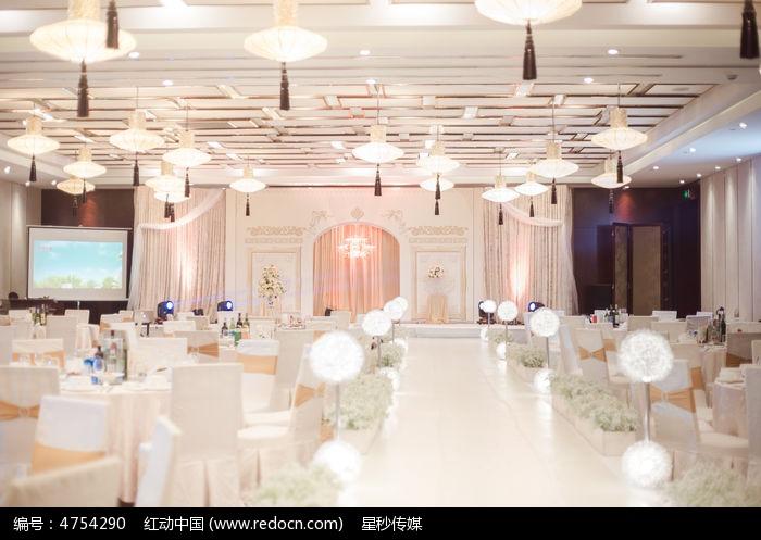 婚礼舞台全景图片
