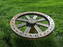 草原木轮标识