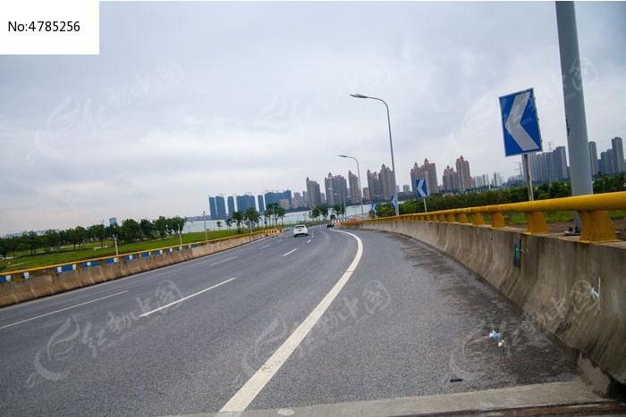 城市公路素材图片