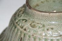 金丝铁线的 哥窑碗