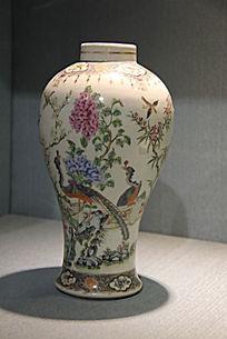 孔雀大花瓶