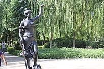西方神话人物雕塑像