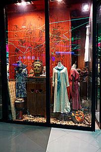 中国风服装店