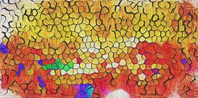 色块抽象装饰画