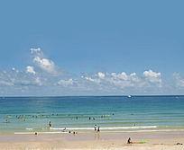 海南三亚大东海自然风光