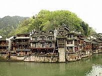 湖南凤凰古城古建筑图