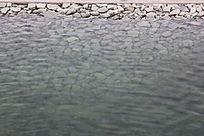 法制公园湖水水纹图