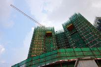 公寓建筑施工