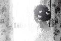 期盼的新娘 仿旧照