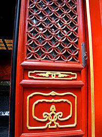 复古木门雕刻