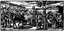 改革开放农民版画