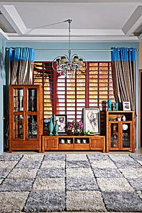 玻璃橱柜电视柜