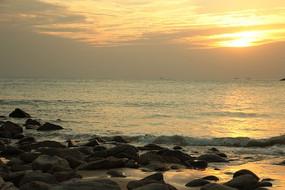 海陵岛日落