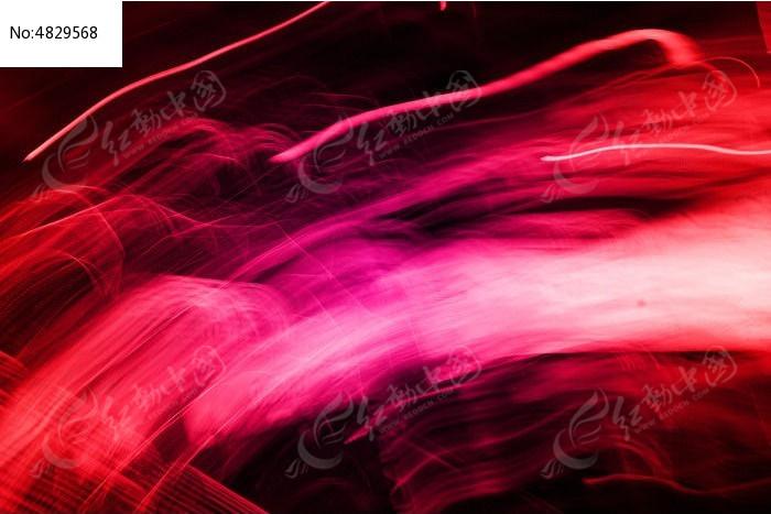 红色光线图片