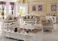 欧式豪华经典沙发