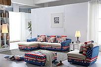 美国国旗沙发