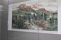 山中山林图
