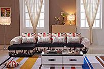 现代中式沙发