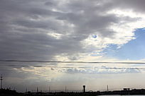 下雨前乌云图