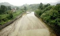 白马水库溢洪道